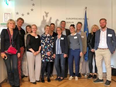 Kulturhauptstadt 2025: Das Team Hannover am 16. Oktober in Berlin