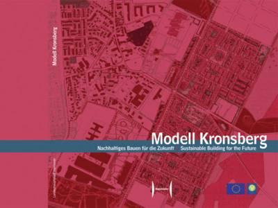 Kartenausschnitt mit Fokus auf die Bebauung am Kronsberg