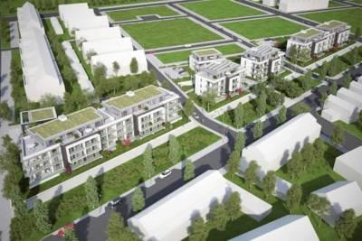 Baugebiet Steinbruchsfeld (Entwurf)