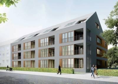 Bauprojekt Dannenbergstraße (Entwurf)