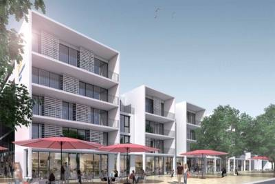 Bauprojekt Herrenhäuser Markt (Entwurf)