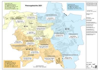 Stadtteilübersicht Hannover