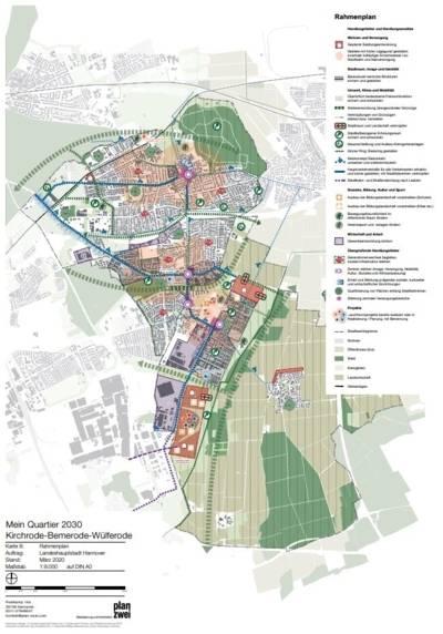 """Zu sehen ist eine Karte von """"Mein Quartier 2030"""""""