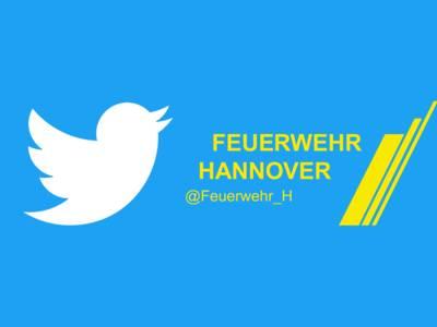 Die Feuerwehr Hannover im Sozialen Netzwerk Twitter