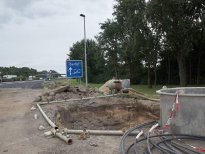 Verdachtspunkt an der BAB2/Parkplatz Vahrenheide