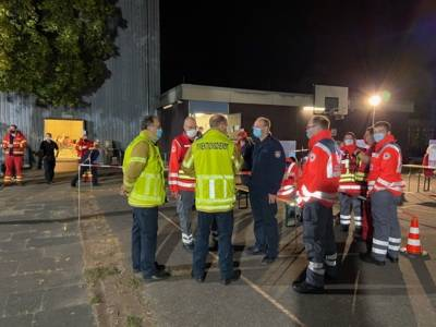 Einsatzkräfte der Feuerwehr Hannover