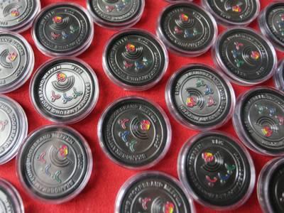 Die Coins der Bundeswehr wurden als Anerkennung für den geleisteten Einsatz überreicht.