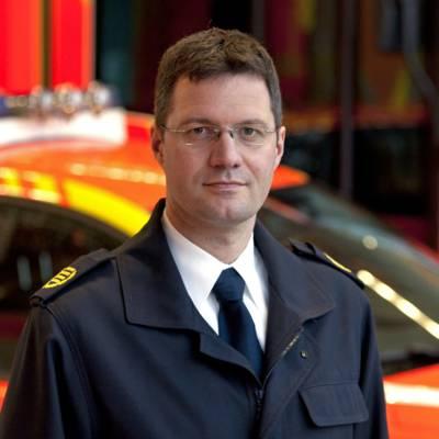 Bereichsleiter Branddirektor Dipl.-Ing. Jan Feichtenschlager.