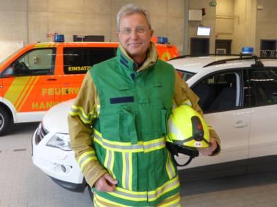 Pressesprecherteam Feuerwehr Hannover - Andreas Hamann