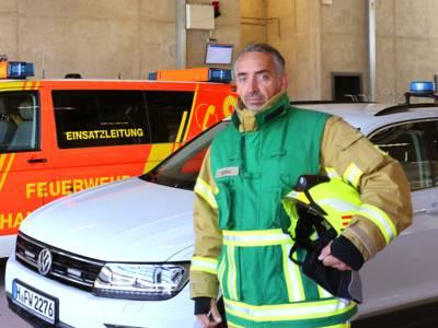 Pressesprecherteam Feuerwehr Hannover - Michael Hintz