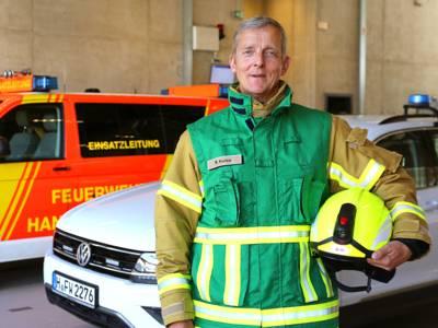 Pressesprecherteam Feuerwehr Hannover - Rainer Kunze