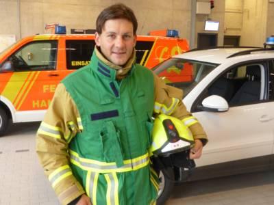 Pressesprecherteam Feuerwehr Hannover - Tobias Slabon