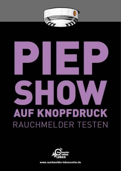 RRL Plakat Peep Show