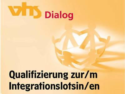 "Deckblatt des Flyers ""Qualifizierung zur Integrationslotsin/zum Integrationslotsen"""