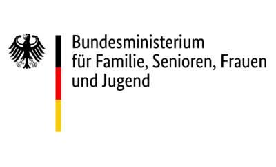 Logo des Bundesministeriums für Familie, Senioren, Frauen und Jugend (BMFSFJ)