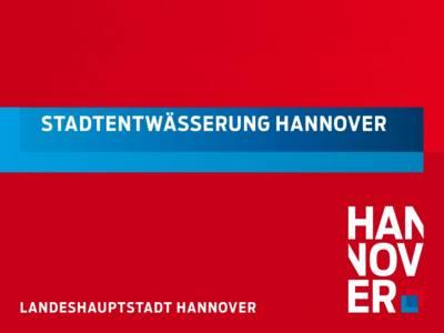 Flyer der Stadtentwässerung Hannover