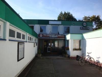 Vereinsgebäude des TSG 93