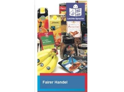 Faltblatt Fairer Handel Leichte Sprache