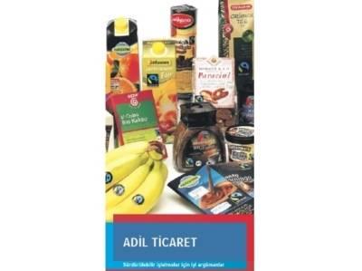 Faltblatt Fairer Handel türkisch