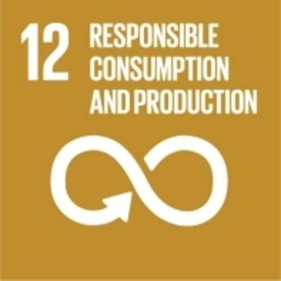 """Symbol für globales Nachhaltigkeitsziel Nr. 12 """"Nachhaltiger Konsum"""""""