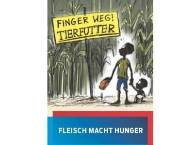 Titel Flyer Fleisch Macht Hunger