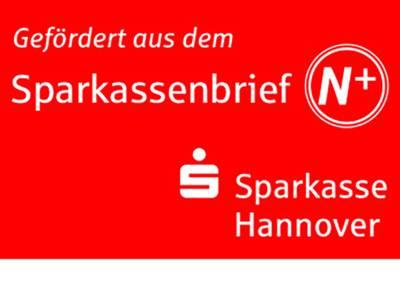 "Das Logo der Sparkasse enthält den Schriftzug ""Gefördert aus dem Sparkassenbrief N+""."