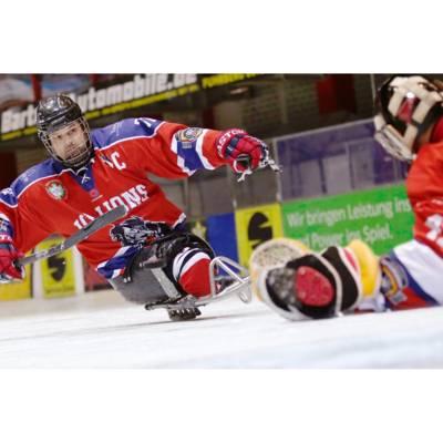 Jörg Wedde, Para-Eishockeyspieler, ist einer von 33 Hannoveraner*innen, die ihre ganz individuelle Bewegungsgeschichte erzählt haben.