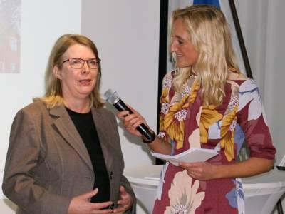 Interview zwischen zwei Frauen