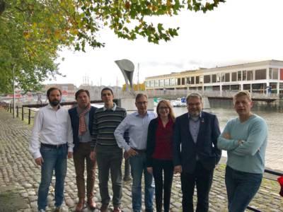 Gruppenaufnahme der teilnehmenden Delegation aus Hannover