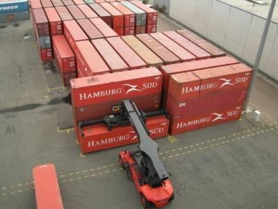 Containerlager im Nordhafen