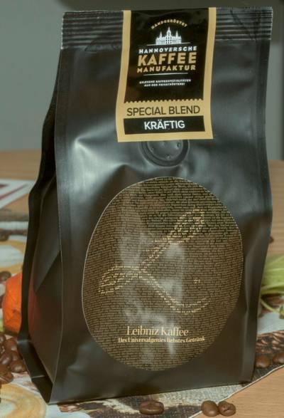 Eine Kaffee-Packung.