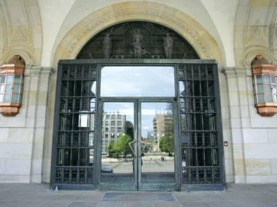 Eingangsbereich eines Gebäudes