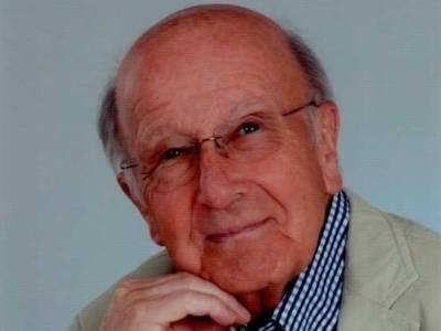 Porträt eines älteren Mannes mit Brille