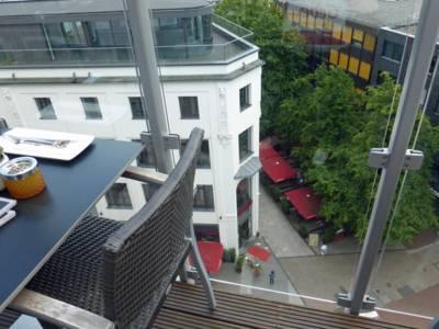 Die Fußgängerzone aus Vogelperspektive
