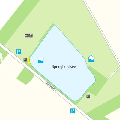 Anfahrtskizze Springhorstsee