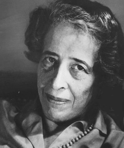 Porträtfoto von Hannah Arendt