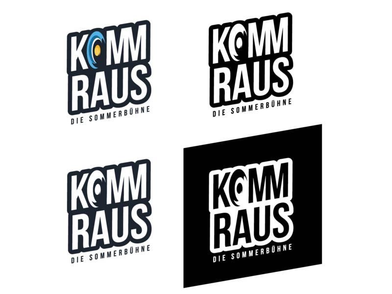 KOMMRAUS-Festival: Logo