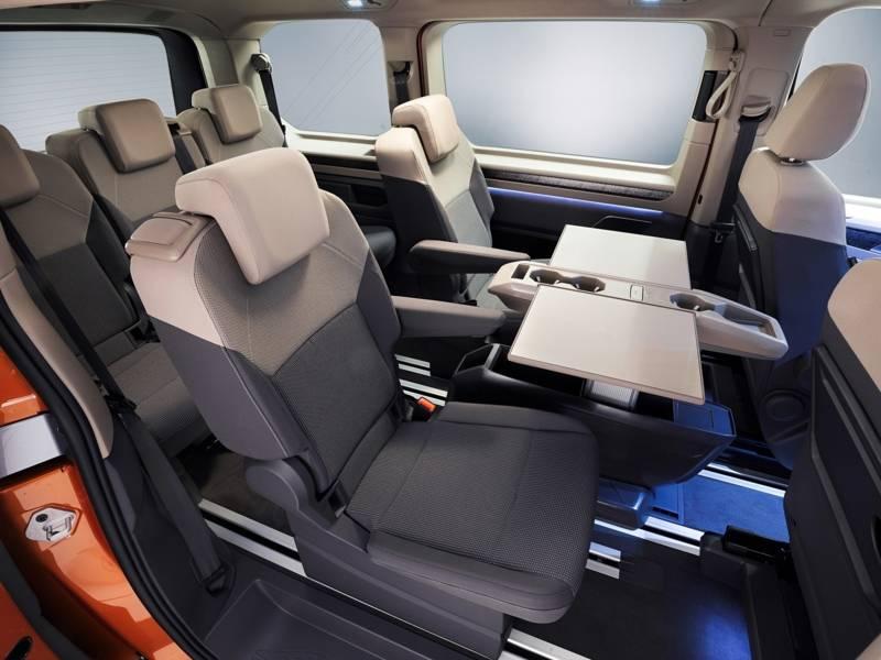 Innenraum eines Vans