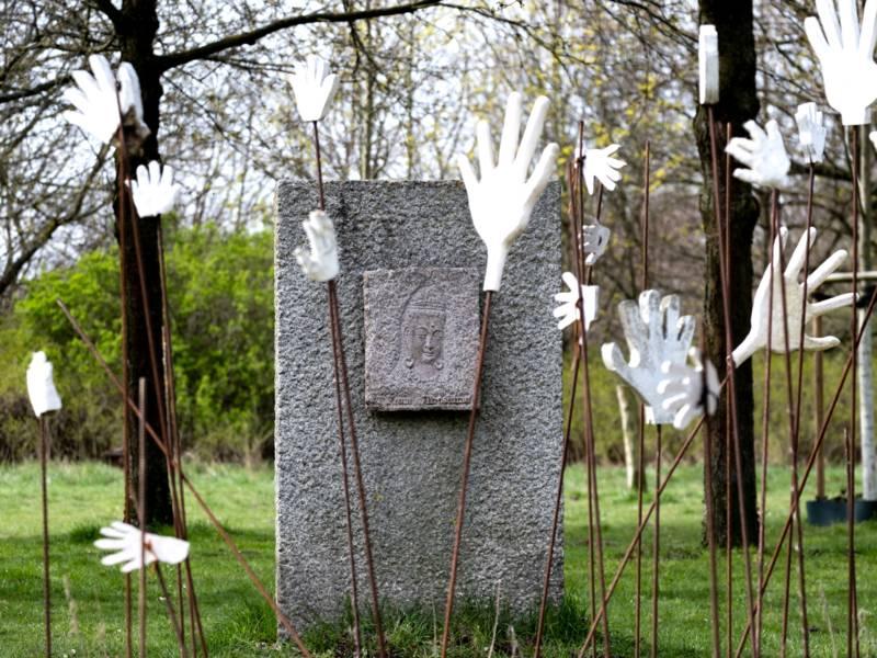 Die Installationen von Klaus-Dieter Kappenberg im Hiroshima-Hain