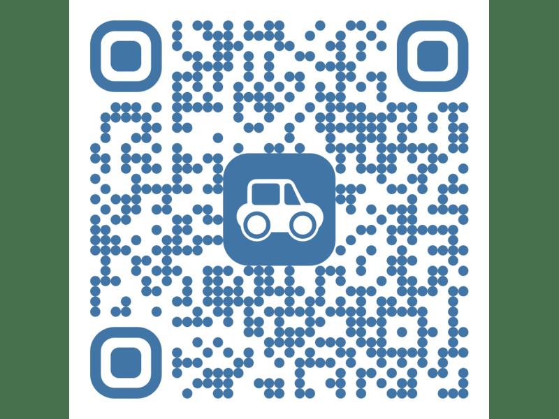 Ein QR-Code für die NUNAV-App.