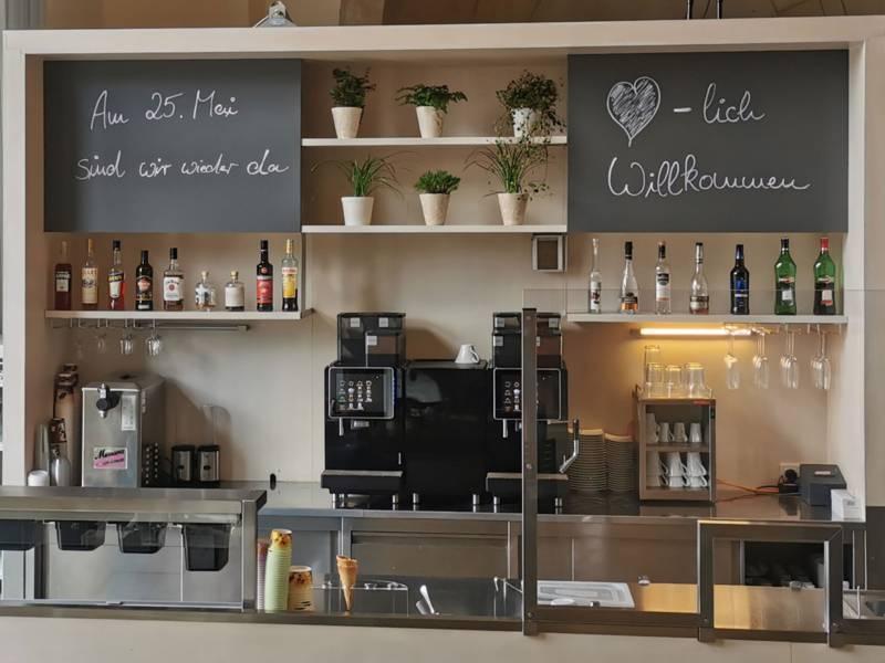 """Das Restaurant """"Der Gartensaal"""" öffnet am 25. Mai."""