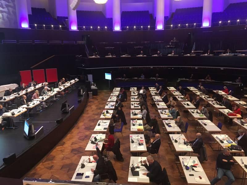 Sitzung der Regionsversammlung.