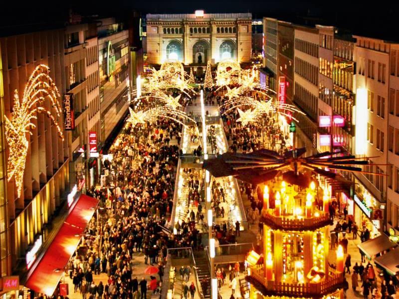 Hannover schmückt sich weihnachtlich
