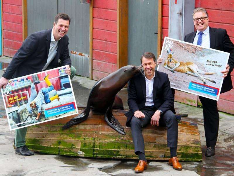 Plakatkampagne Erlebnis-Zoo