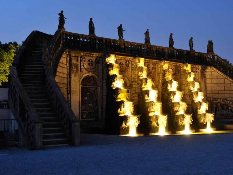 Illumination der Großen Kaskade