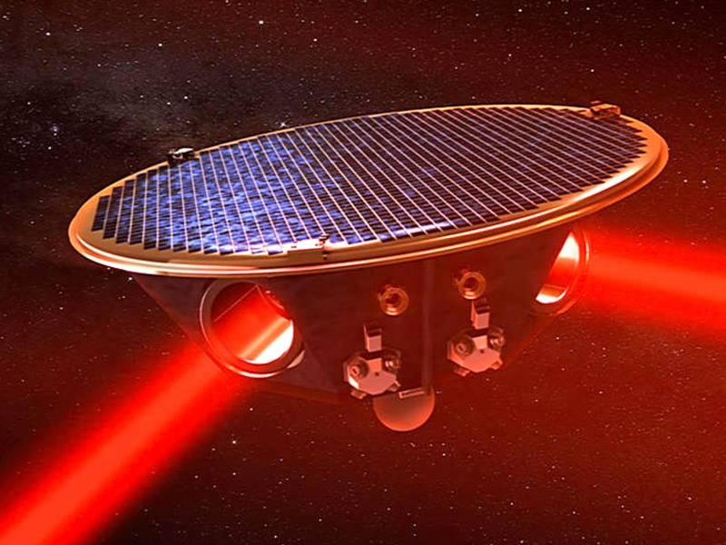 LISA 2 laser arms