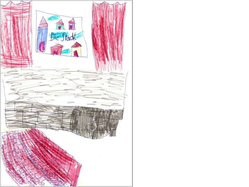 Corinna hat den Kinosaal gemalt