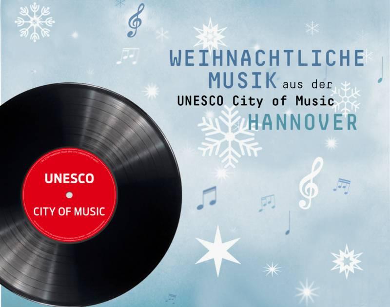 Auf dem zweier CD-Set sind 44 Weihnachtslieder von PartnerInnen der UNESCO City of Music.