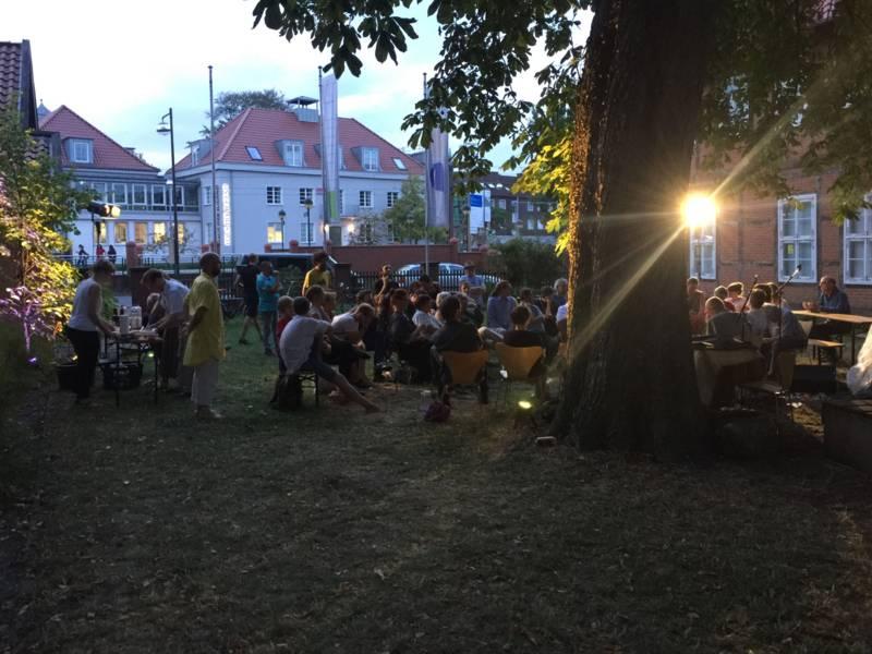 Podium im Kunstverein Langenhagen