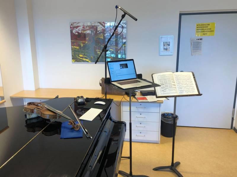 Der Unterricht in der Musikschule der Landeshauptstadt Hannover läuft auf Hochtouren.
